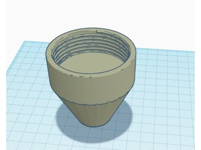 Fleshlight (flapjack) to 8mm Adapter