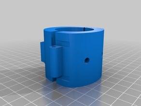 KLAMP - IKEA lamp hot air gun holder remix (print in place)