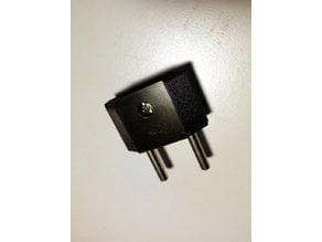IEC Plug Type C (OpenSCAD Module)