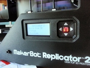 Replicator 2 and 2X LCD Plate