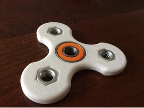 fidget spinner (with nuts) v1
