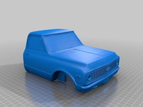 72 Chevy C10 Truck Body