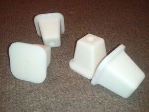 Printable furniture leg (can be glued- screwed- nailed)