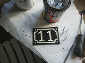 numéro de maison / house number 11