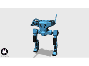 Biped Scout Robot