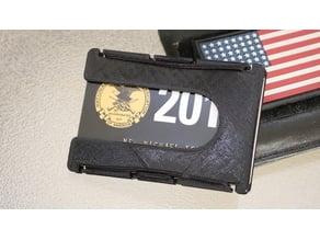 MY2KSapphire 3D-Printed EDC Minimalist Wallet