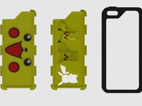 Iphone 5 Case Pikachu