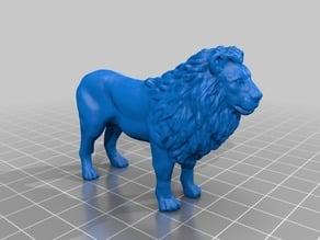 ライオン(Lion)3Dデータ
