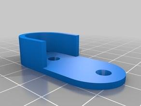 soporte barra armario