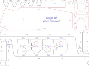 Ultimaker Lasercut Drawings (separate files)