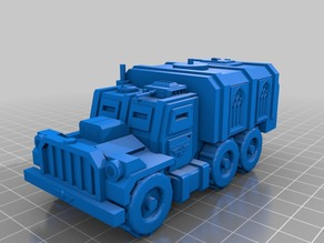 Imperial Guard Wilhelm Armored Transport