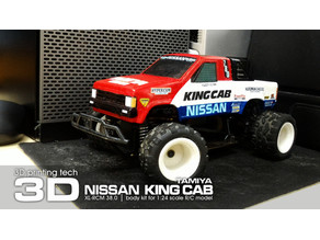 TAMIYA NISSAN KING CAB 1:24 scale kit for WL-Toys A212