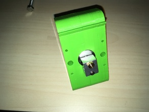 Anet A6 Extruder Prototype bowden & direct