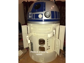 R2D2 Version 2 Main Body Frame
