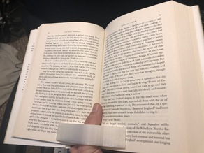 One Handed Reading Assitant