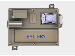 Enclosure Wemos D1 + LCD2004