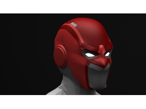 Injustice 2 Red Hood helmet variant