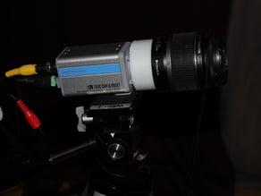Canon EF lens to C-Mount/CF-Mount (CCTV)