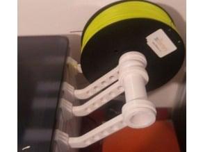 External mount filament for flashforge dreamer
