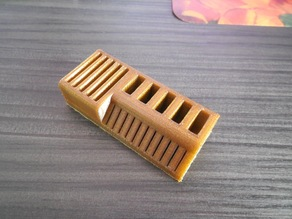 Customized 5 SD card / 5 USB stick holder