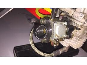 Walbro carburetor perpendicular trumpet