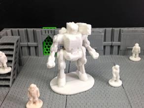 Eradicator Heavy Combat Robot
