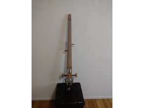 "O'Cello for 1/2"" rod, folding chest rest, telescoping knee rest"