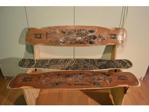 Longboard bench