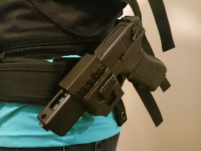 G18c holster v3s cm030 plate to attach to belt