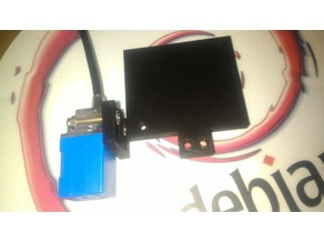 Anet A6 Fan+Sensor (XY-08N) Mount