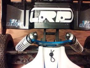 LRP S8 Rebel BX rear wing shims