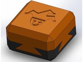 Impossible dovetail box secret