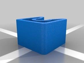 """Cable Clip / ID Flexible Square Design .25"""""""