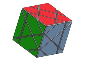 Slice Rubik's Cube Add-On Shells