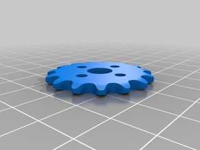 FTC 15 Tooth Sprocket 8mm Pitch for Revrobotics Chain fit to Tetrix Hub V3 Flat