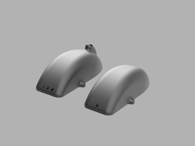 Canopy for RCExplorer Tricopter V3 (50mm nose) by Motorpixiegimbals - Thingiverse & Canopy for RCExplorer Tricopter V3 (50mm nose) by ...