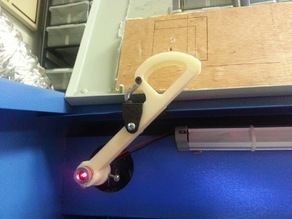 Laser Pointer Holder for 40W CO2 Laser
