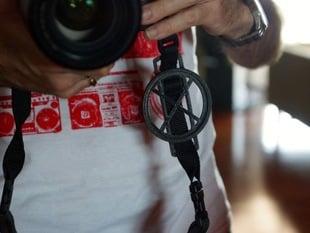 Camera Lens Cap Holder - 72mm x 25mm