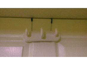 Three Hook Over-Door Hanger