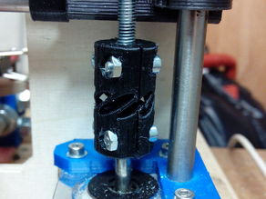 Z-Coupler v1 with Flex Chamber 5mm Stepper to 5mm threaded rod
