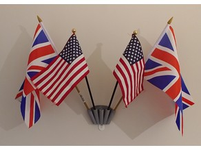 Command Strip 5 (small) Flag Holder