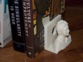 Bookends for Makerbot Busts.