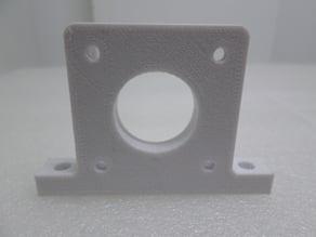 Flashforge Creator Pro Y-axis step motor mounting bracket. (2) versions