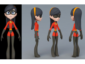the incredibles Violet