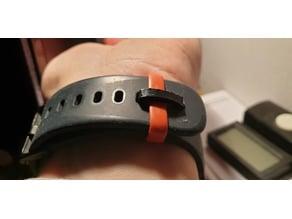 Wristwatch band holder (Amazfit Bip)