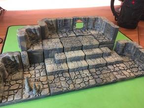 Cavern Riser Blocks + Bases 2x2 (Openforge 2.0 compatible)