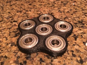 Cinco hand spinner fidget