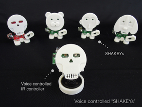Voice Controlled SHAKEYs