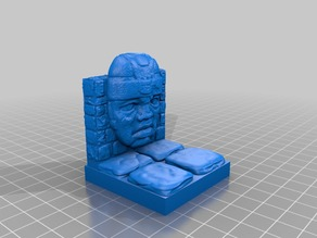 Olmec OpenForge 2x2 Dungeon Wall