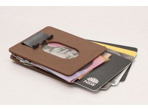 Binder Clip Wallet - Very slim and secure